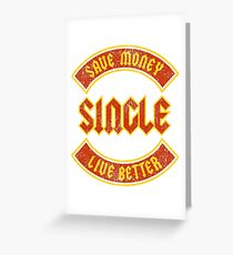 Save Money Live Better Greeting Card