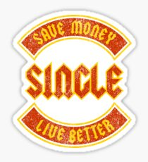 Save Money Live Better Sticker
