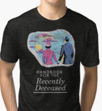 Handbook for the Recently Deceased - Dark Tri-blend T-Shirt
