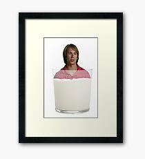 Will Wahl- Milk Framed Print