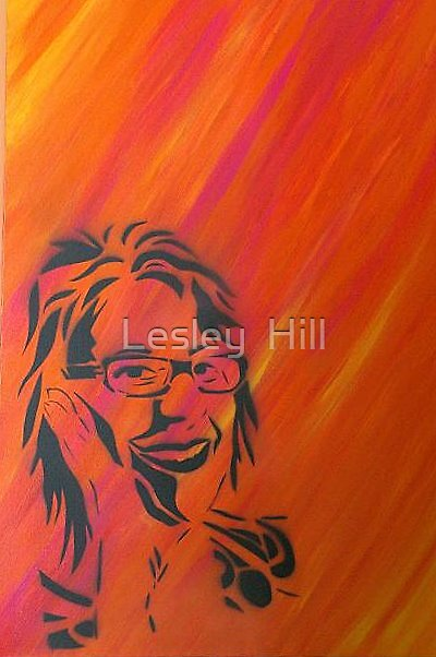Self Portrait by Lesley  Hill