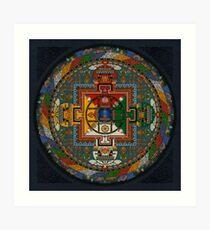 Mandala of Yamantaka Art Print