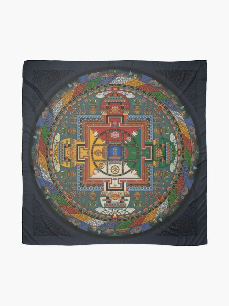 Alternative Ansicht von Mandala von Yamantaka Tuch