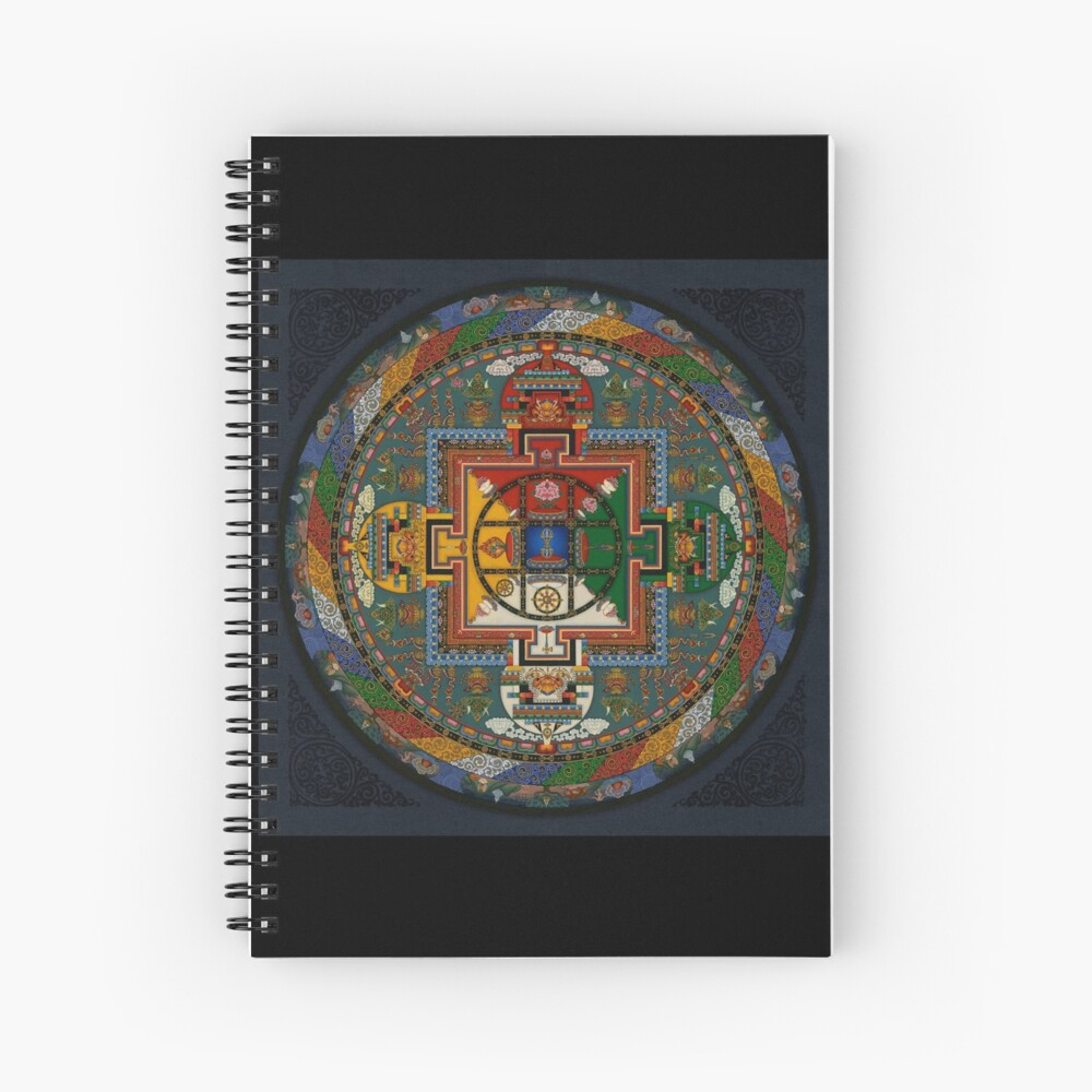 Mandala von Yamantaka Spiralblock