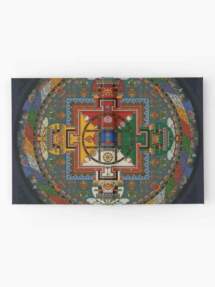 Alternative Ansicht von Mandala von Yamantaka Notizbuch