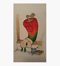 Sweatin' Pepper Photographic Print