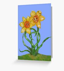 Daffy for you Greeting Card
