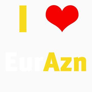 I HEART EurAzn by EurAzn