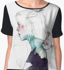 BETTA Women's Chiffon Top