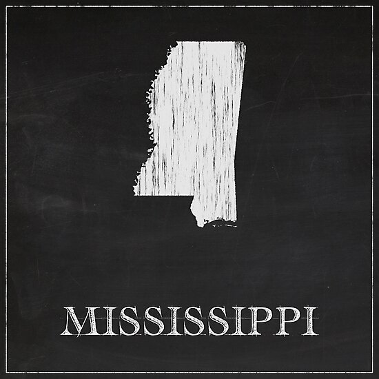 Mississippi - Chalk by FinlayMcNevin