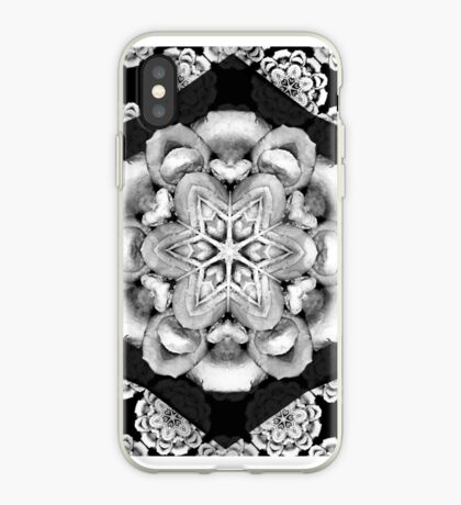 old fashioned lace pattern  iPhone Case
