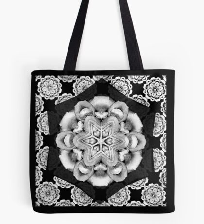 old fashioned lace pattern  Tote Bag