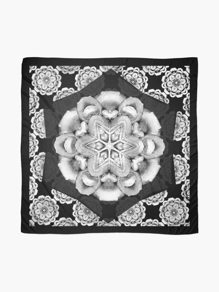Alternate view of old fashioned lace pattern  Scarf