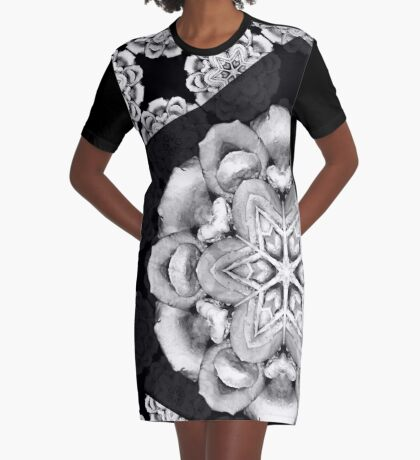 old fashioned lace pattern  Graphic T-Shirt Dress