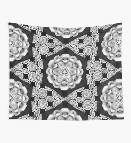 old fashioned lace pattern  Wall Tapestry