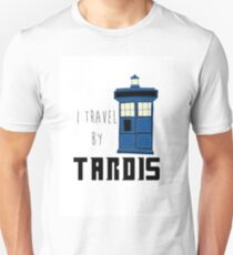 Doctor Who - I travel by tardis T-Shirt