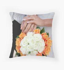 Wedding Images Throw Pillow