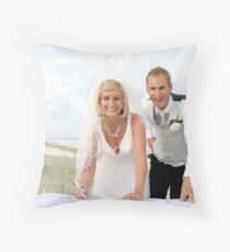 Weddings on the Beach Throw Pillow