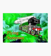 Flying Scotsman with Blinkers Photographic Print