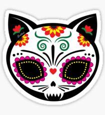 Gato Muerto Sticker