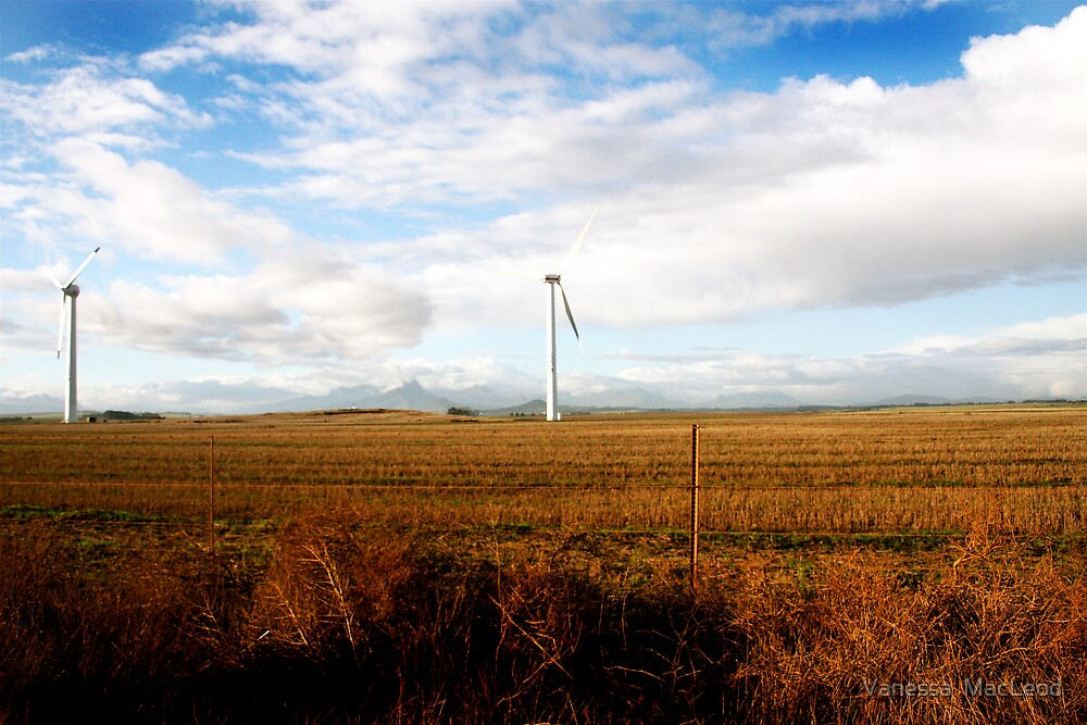 Clean Energy Landscape by Vanessa  MacLeod