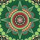 Mayahuel Mandala by evilkidart
