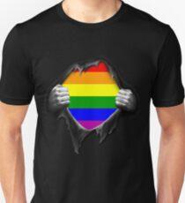 Premium Gay Pride Rainbow LGBT  Unisex T-Shirt
