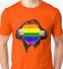 Premium Gay Pride Rainbow Shirt T-Shirt