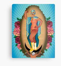 Lucha Guadalupe Metal Print