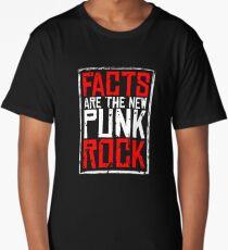 FACTS ARE THE NEW PUNK ROCK (Haz D. Mujica Mono Remix) Long T-Shirt