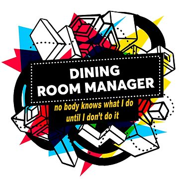 DINING ROOM MANAGER by Jabsonbaso