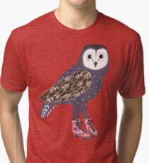 I skate OWL night long Tri-blend T-Shirt