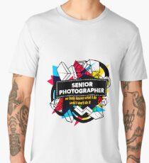 SENIOR PHOTOGRAPHER Men's Premium T-Shirt
