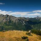 Climbing Vrh Bora by Dominika Aniola