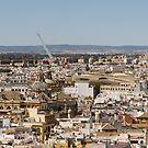 Seville Spain - Hot Landmarks from Above by Georgia Mizuleva