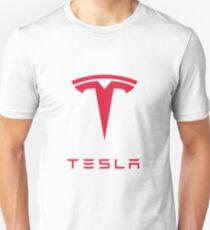 Tesla Motors Inc Logo Unisex T-Shirt