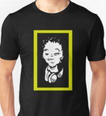 Del the Funky Homosapien - No Need For Alarm cartoon head replica shirt T-Shirt
