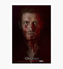Klaus Mikaelson - The Originals Character Poster Photographic Print