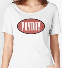Payday records logo - home of Jeru, show & AG, O.C Women's Relaxed Fit T-Shirt