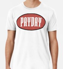 Payday records logo - home of Jeru, show & AG, O.C Men's Premium T-Shirt