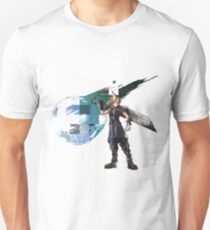 Cloud Strife Gridwork design & logo T-Shirt