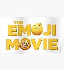 THE EMOJI MOVIE 2017  - Logo Poster