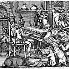 Reading The Black Book (Black Print) by Miserysmalice