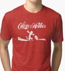 Calvin and Hobbes COKE Tri-blend T-Shirt