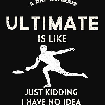 Funny Ultimate Frisbee Shirt by pastaneruda