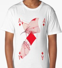 Cryptic Cards Ace of Diamonds Long T-Shirt