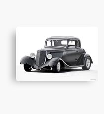 1934 Ford Five-Window Coupe I Metal Print