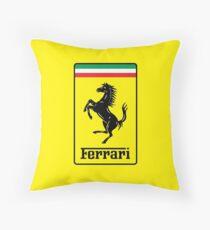 Ferrrari Throw Pillow