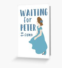 Waiting for Peter Greeting Card