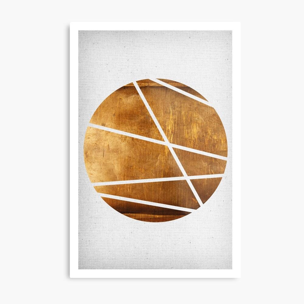 Circle 01 Metallbild